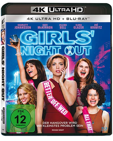 Girls' Night Out 4K UHD Blu-ray Cover