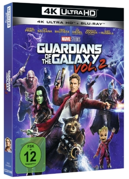 Guardians of the Galaxy Vol. 2 4K Blu-ray Disc mit Schuber