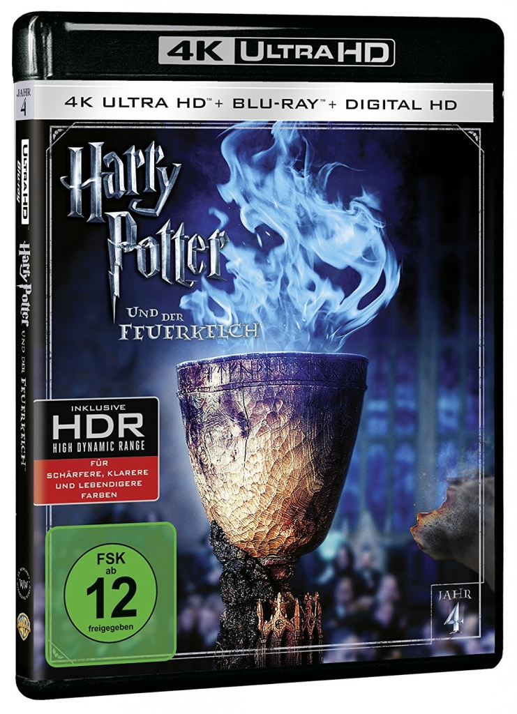 Harry Potter und der Feuerkelch auf 4K Ultra-HD-Blu-ray