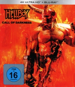 Frontcover von Hellboy Call of Darkness 4K UHD Blu-ray