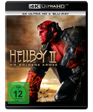 Hellboy II - 4K UHD Bluray Cover