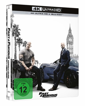 Fast & Furious - Hobbs and Shaw 4K UHD im Steelbook