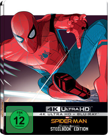 Spider-Man: Homecoming im 4k-Steelbook