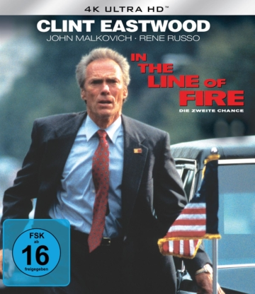 In the Line of Fire - 4K Blu-ray (UHD Blu-ray Disc)