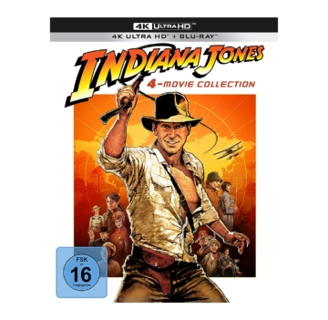 Indiana Jones 4K Blu-ray Set (Frontansicht)