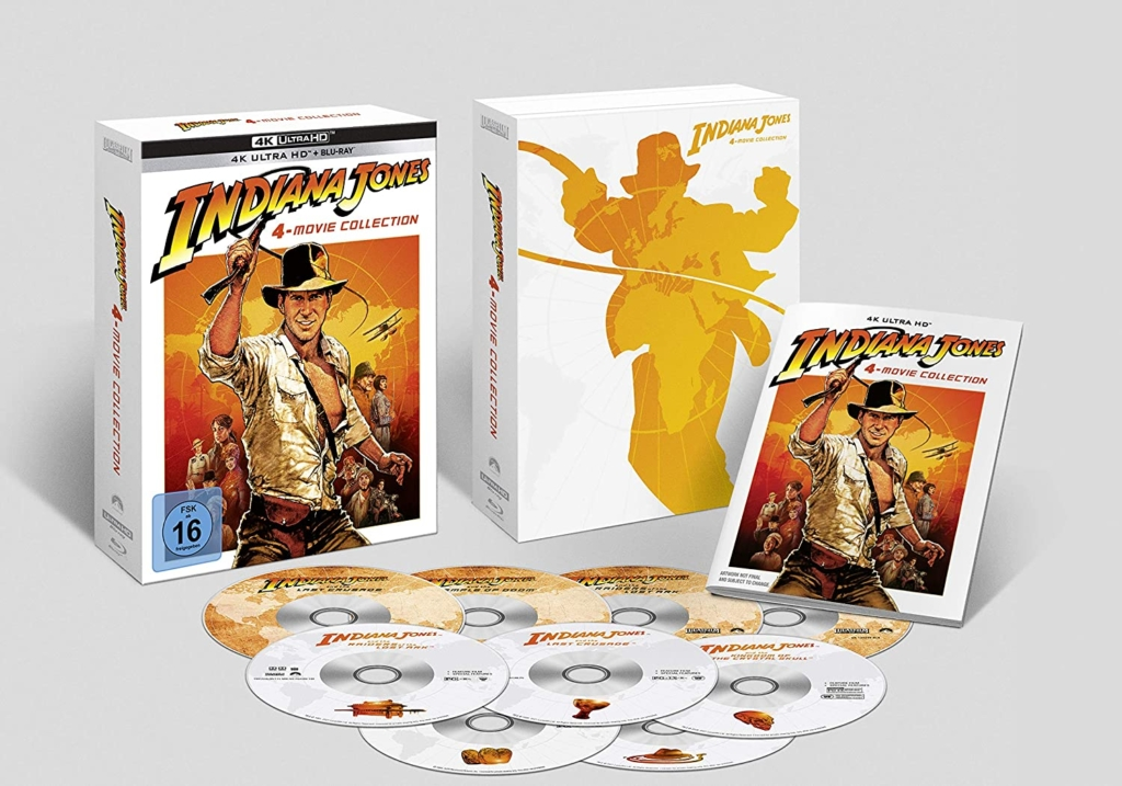 Indiana Jones 4K UHD Keep Case Innenansicht