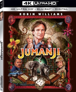 US-Cover Jumanji 4K Ultra HD-Blu-ray