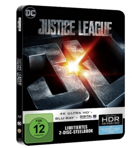 Bild vom Justice League 4K Steelbook
