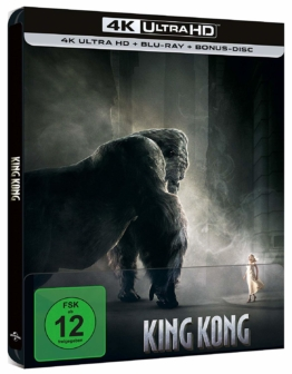 King Kong 4K Steelbook