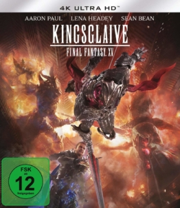 Kingsglaive: Final Fantasy XV - 4K Blu-ray Disc mit Pappschuber