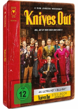 Knives Out - Limited 4K Steelbook Edition mit Daniel Craig
