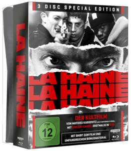 La Haine 4K Special Edition (UHD + Blu-ray Disc) (3D Cover mit T-Shirt)