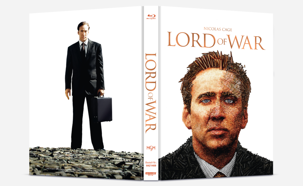 Lord of War 4K Mediabook (Front- und Backcover)