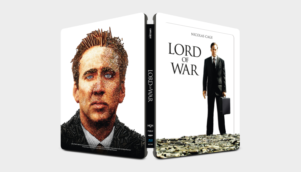 Lord of War 4K Steelbook (Front- & Backcover)