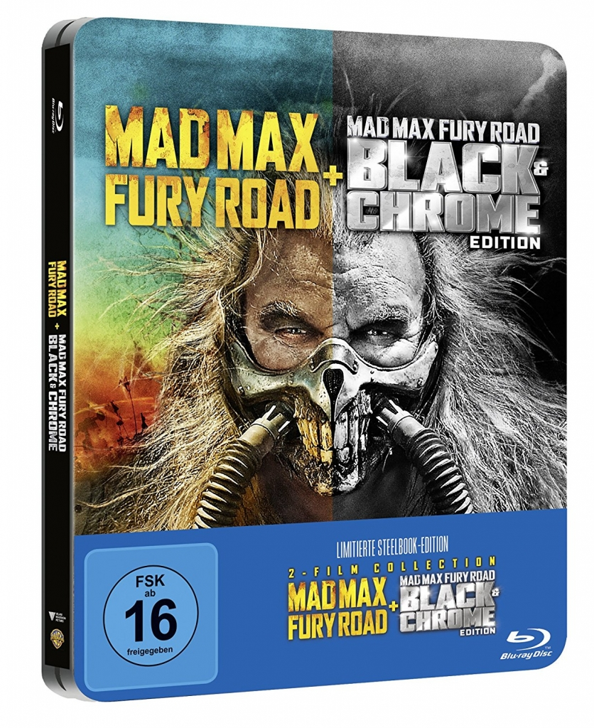 Mad Max Fury Road - Steelbook