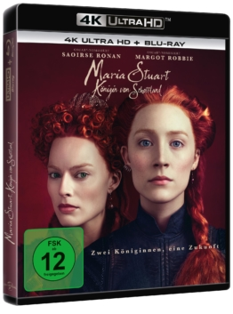 Maria Stuart (4K UHD Bluray Cover)