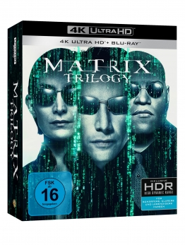 4K UHD Trilogie-Cover zu Matrix