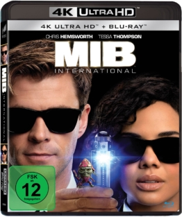 Frontcover zu Men in Black 4K UHD