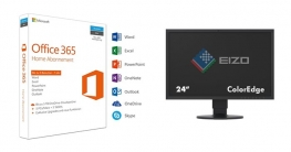 Microsoft Office Suite 365 mit Eizo Monitor