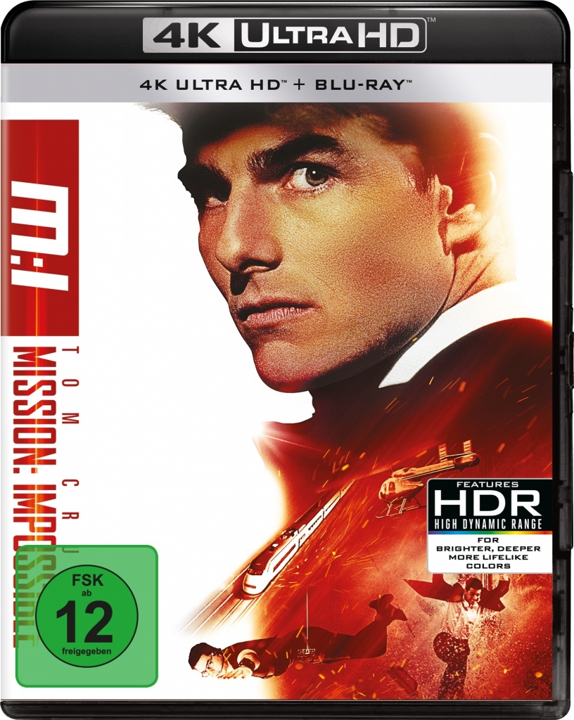 Mission: Impossible 1 - Offizielles 4K Ultra HD Cover