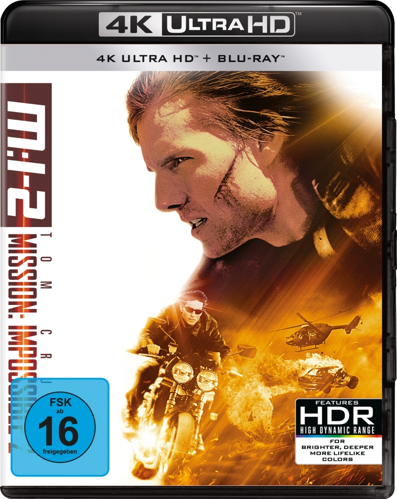Mission: Impossible 2 - Offizielles 4K Ultra HD Cover