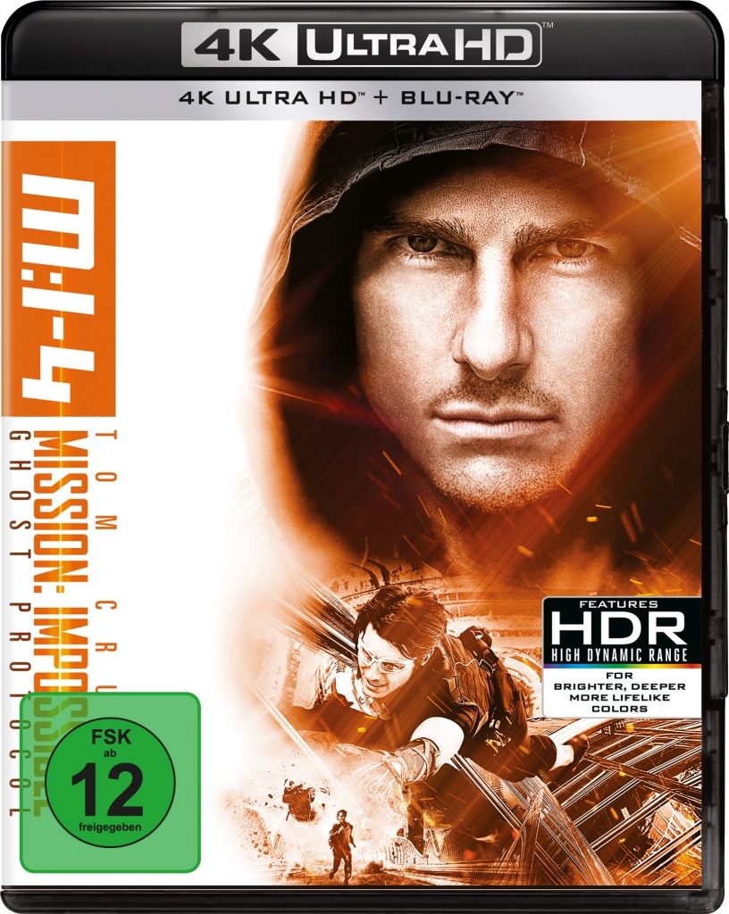4K Ultra HD Cover zu Mission: Impossible 4 - Ghost Protocol