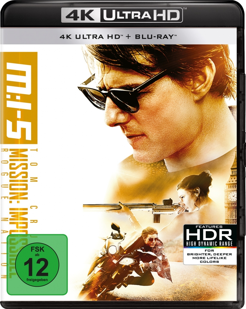 4K UHD Cover zu Mission: Impossible 5 - Rogue Nation