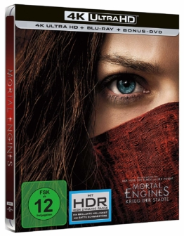 Mortal Engines 4K-Steelbook