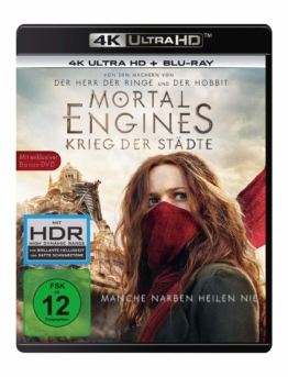 Mortal Engines auf 4K UHD Blu-rayray