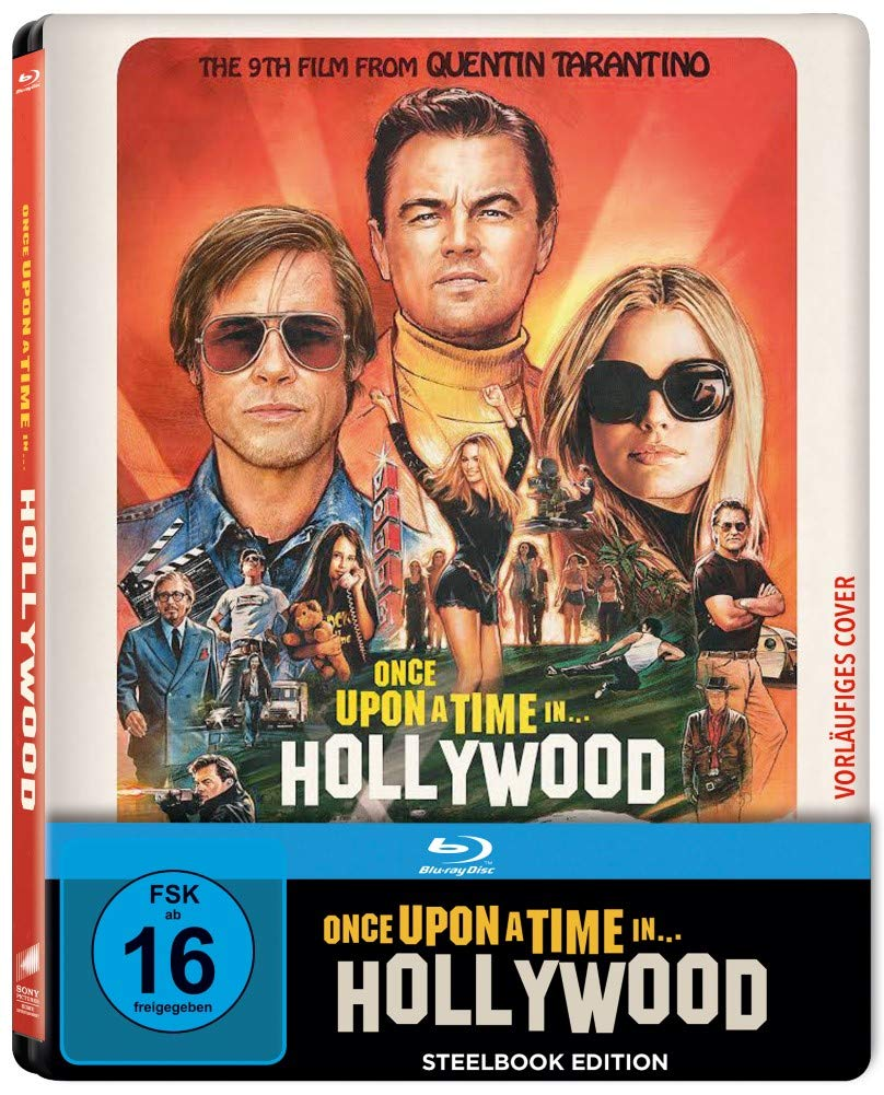 Once Upon A Time in Hollywood 4K Steelbook Blu-ray