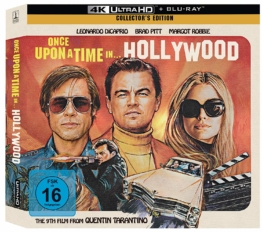 Frontansicht der Limited Vinyl Edition zu Quentin Tarantinos Once upon a time in Hollywood