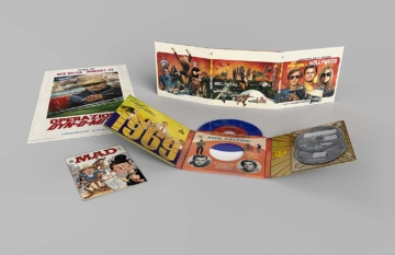Lieferumfang vom Limited Vinyl Collector's Set zu Quentin Tarantinos Once upon a time in Hollywood