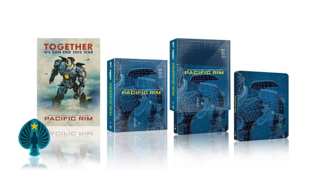 Pacific Rim 4K Steelbook Ansicht (Titans of Cult)