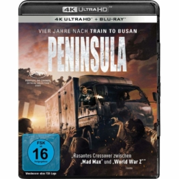 Peninsula 4K Blu-ray Disc mit Wendecover