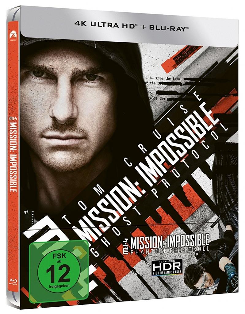 Mission: Impossible 4 - Phantom Protokoll (4K UHD-Steelbook)