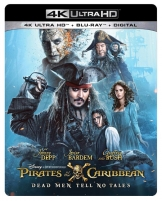 Pirates of the Caribbean Salazars US Cover 4K Blu-ray