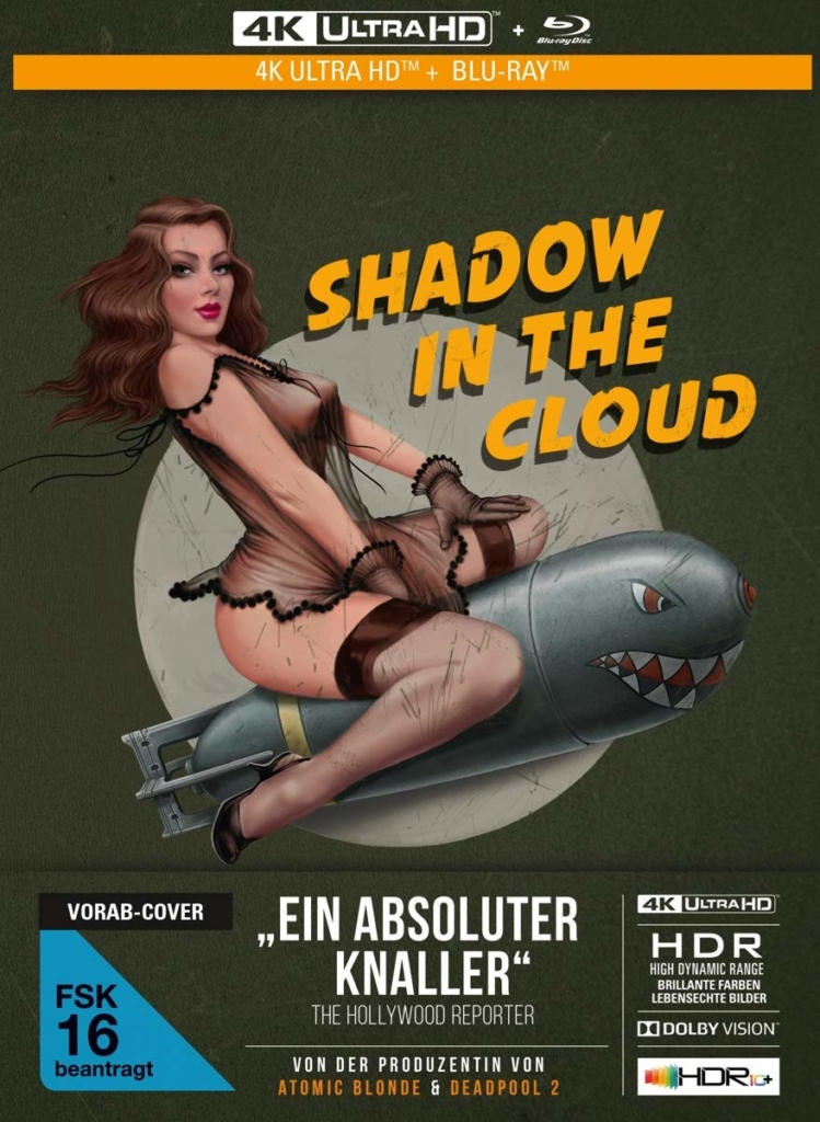PreView Cover von Shadow in the Cloud (4K Mediabook)