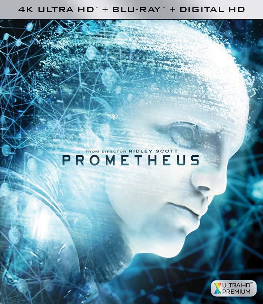 Prometheus - 4K Blu-ray US-Cover