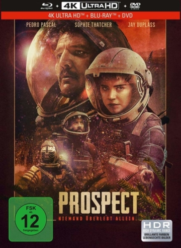 Prospect 4K - Ultra HD Mediabook von Capelight Pictures