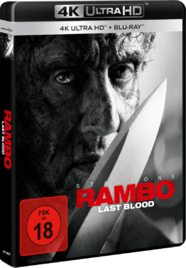 Rambo: Last Blood 4K UHD Keep Case mit Sylvester Stallone