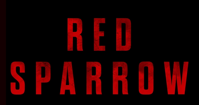 Logo vom Mystery-Thriller Red Sparrow