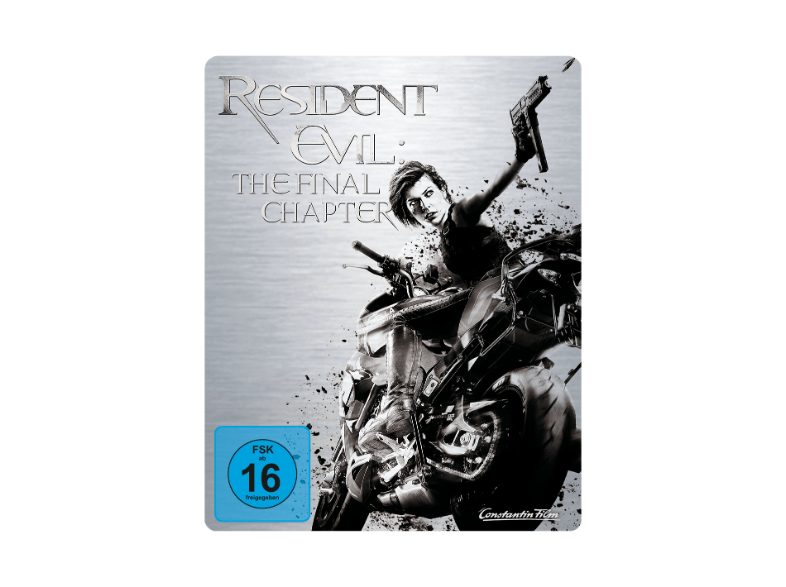 Resident Evil - The Final Chapter im Blu-ray-Steelbook