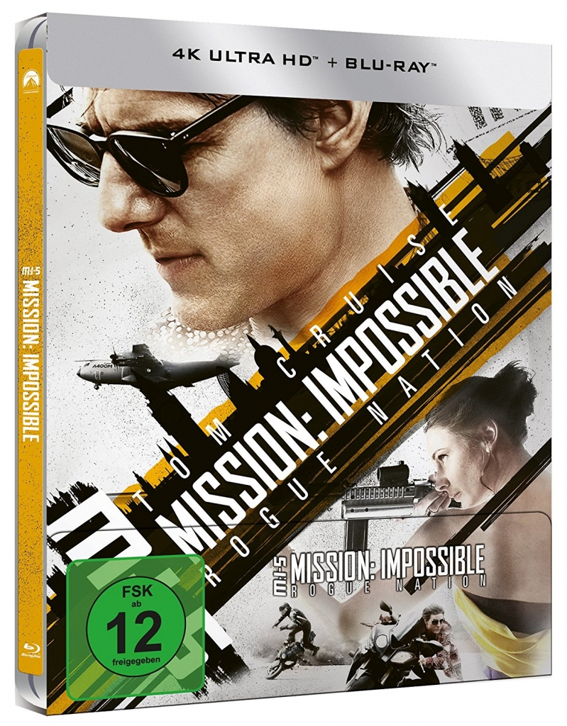 Mission: Impossible 5 Rogue Nation (4K UHD-Steelbook)