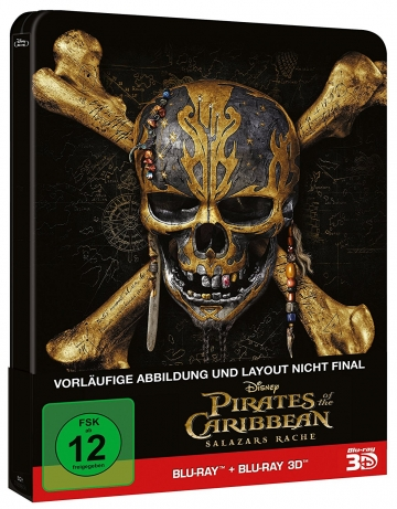Pirates of Carribean - Salazars Rache Blu-ray-Steelbook