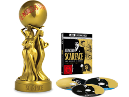 Scarface 4K als UHD Limited Edition mit Statue