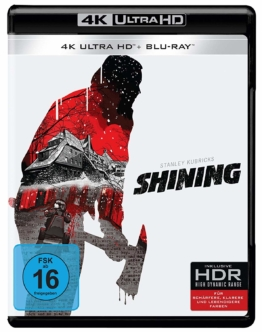 Stanley Kubricks The Shining auf 4K UHD Blu-ray Disc mit Blu-ray Version
