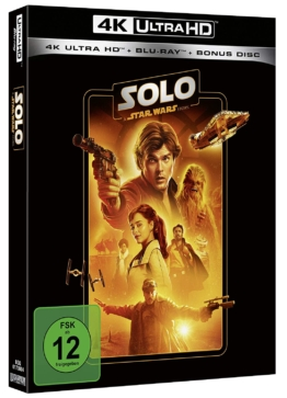 Solo - A Star Wars Story (4K UHD Blu-ray) (Line Look Edition)