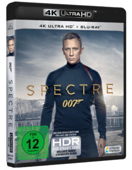 James Bond 007 - Spectre 4K UHD Blu-ray Cover