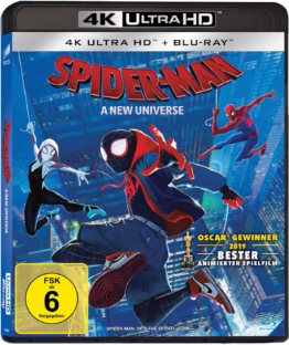 4K UHD Cover zu Spider-Man - A New Universe