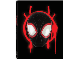 Schwarzes Steelbook Cover zu Spider-Man - A new Universe (4K UHD Blu-ray Disc)